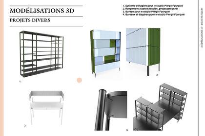 Modélisations 3D