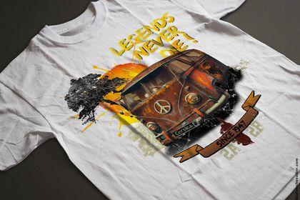 Tee shirt marque touristique