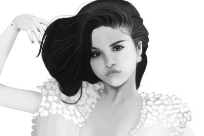 SELENA GOMEZ - Portrait
