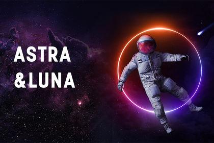 ASTRA Y LUNA - BANNIERE