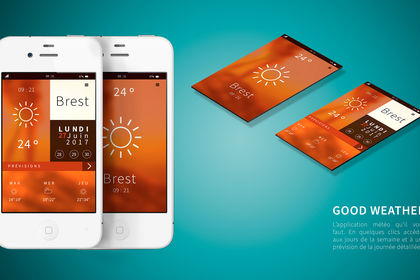 GOOD WEATHER : Application météo