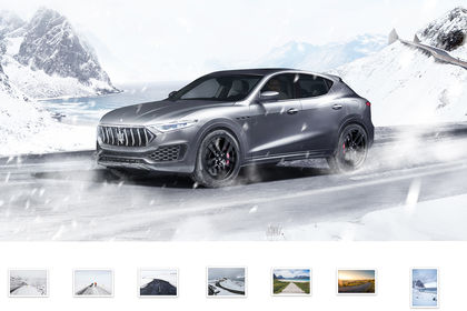 MASERATI : montage / photomanipulation