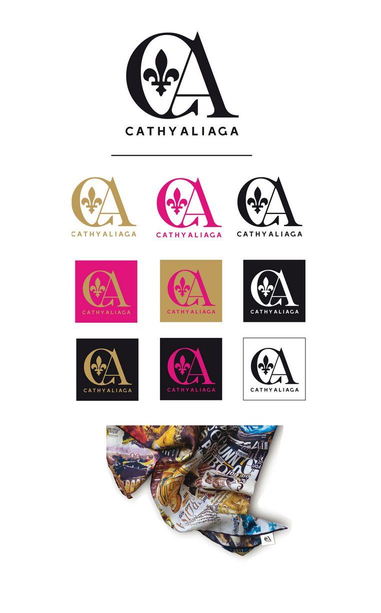 DESIGN GRAPHIQUE  / IDENTITE VISUELLE  Cathy Alia