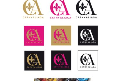 DESIGN GRAPHIQUE  / IDENTITE VISUELLE  Cathy Alia