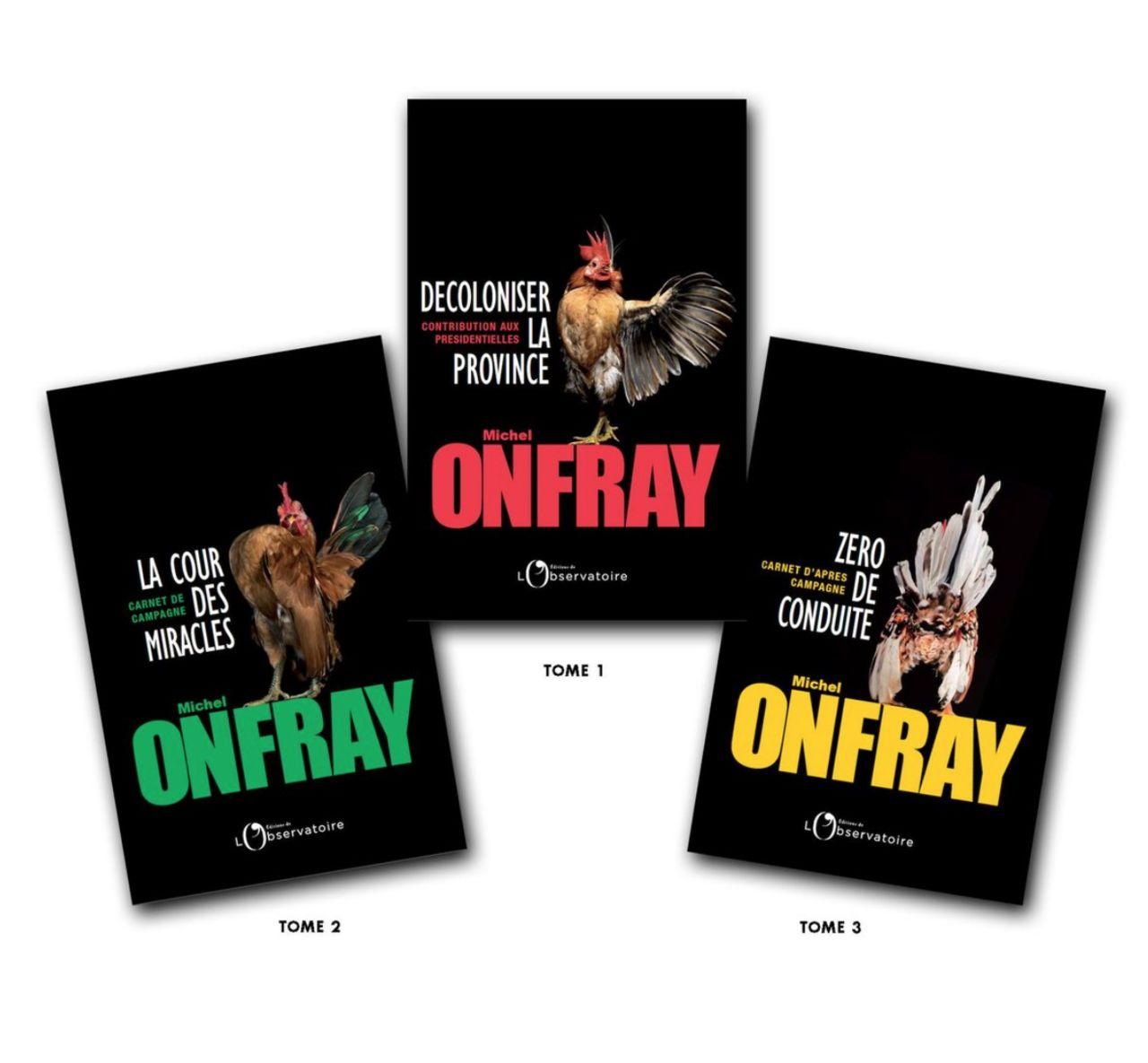DESIGN GRAPHIQUE / D.A. pour Michel ONFRAY : TRILO