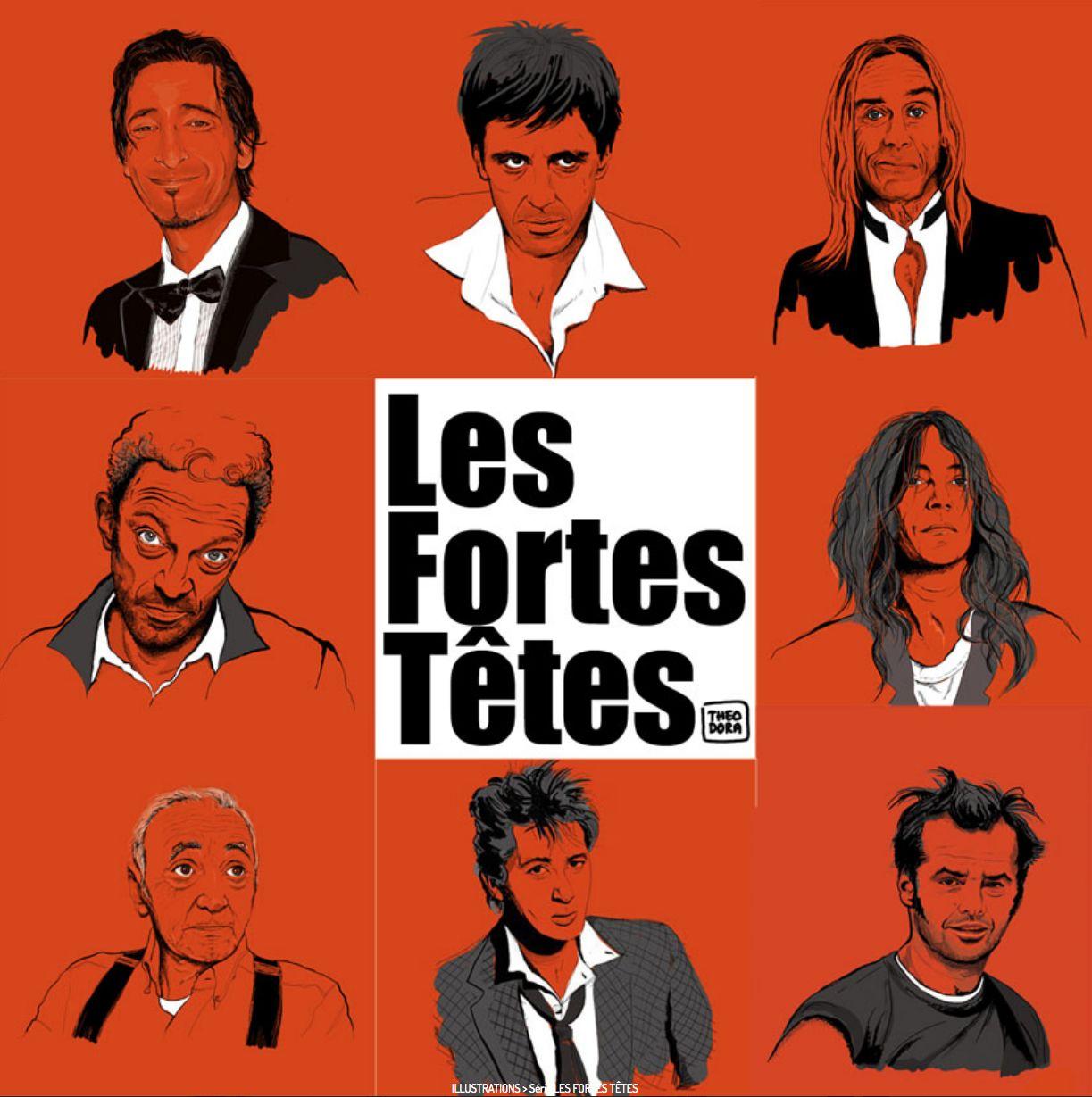 ILLUSTRATIONS > Les Fortes Têtes