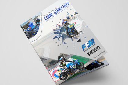 Livret sponsor moto