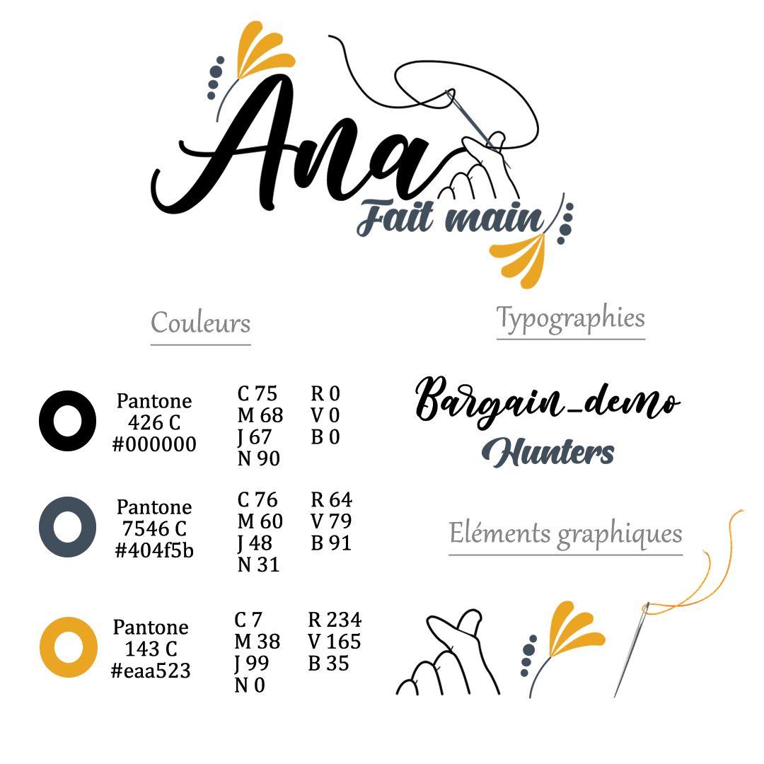 Création de votre logo & sa charte graphique