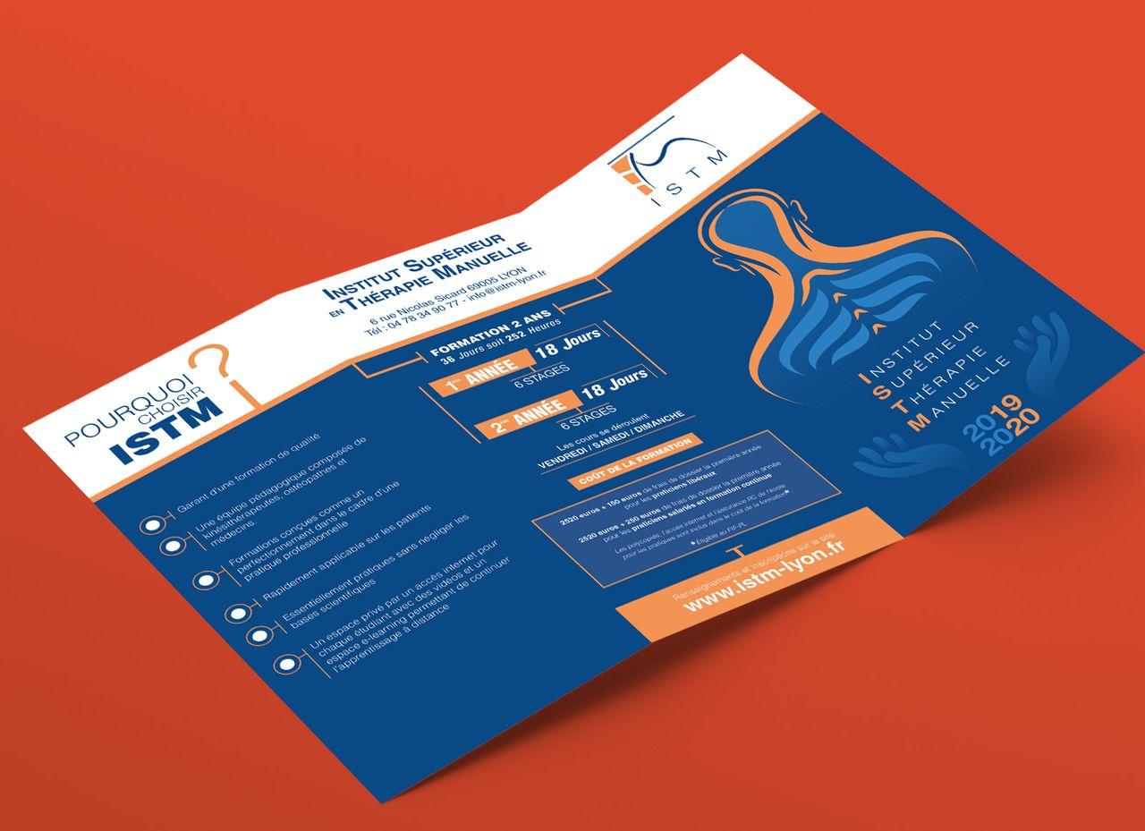 Flyer Ecole Ostéopathie
