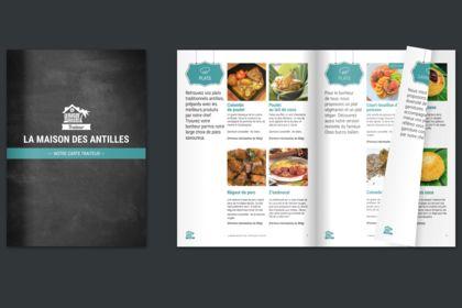 Brochure : La Maison des Antilles - Traiteur