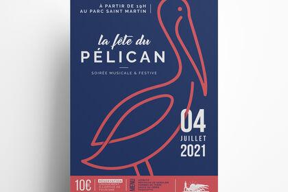 "Branding ""Fête du Pélican"""