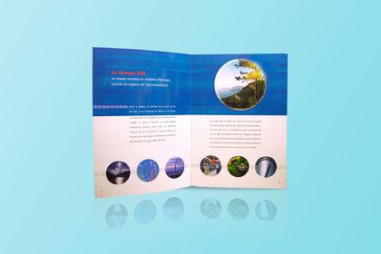 Création et éxécution d'une brochure