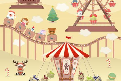 Illustration pour un catalogue de jouets
