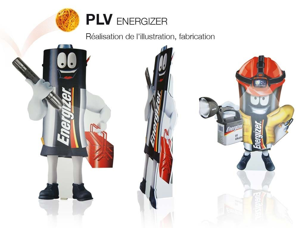 Illustration et conception PLV