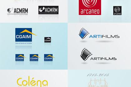 Recherche créative & réalisation de logos