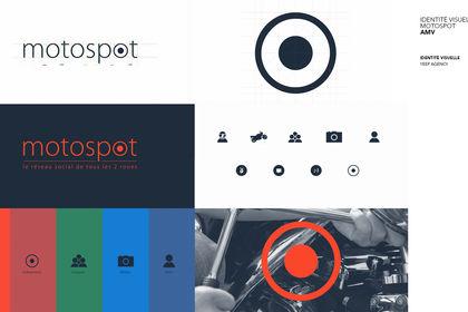 Motospot : identité visuelle