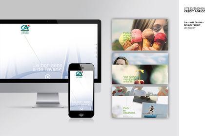 Crédit Agricole : site web