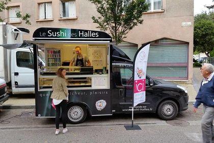 Kakémono et flocage Food Truck