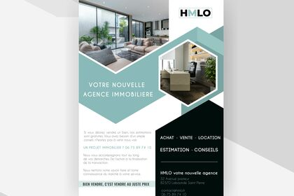 Flyer nouvelle agence immo