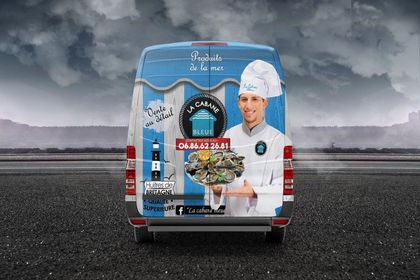 COVERING VEHICULE  ET FOODTRUCK-ARRIERE