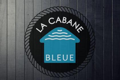 LOGO - LA CABANE BLEUE