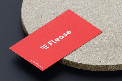 Création du logo Flease