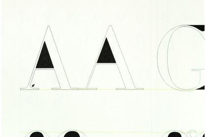 Détails  de comparaisons typographiques