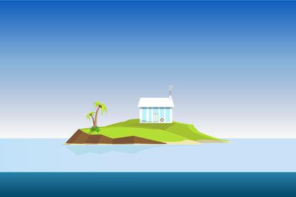 Island // Illustration