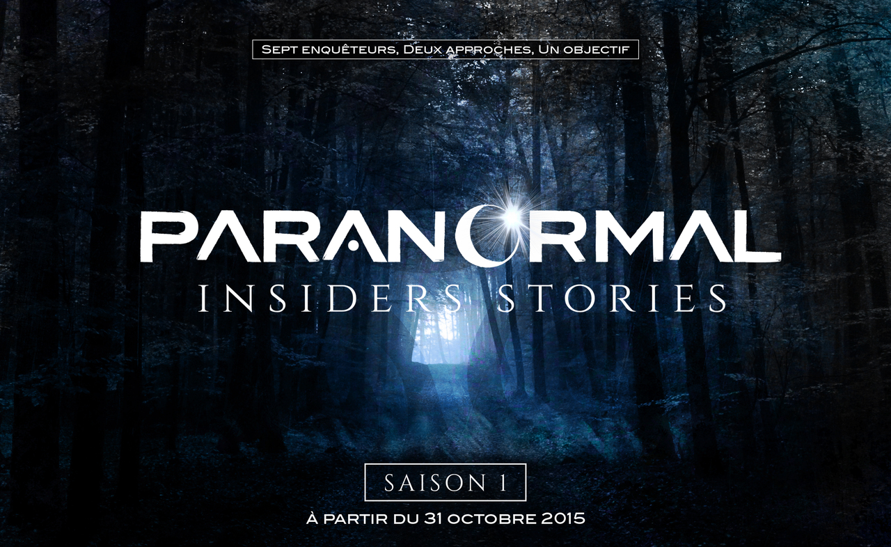 Identité visuelle Paranormal Insiders Stories