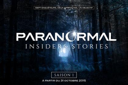Identité visuelle Paranormal Insiders Stories