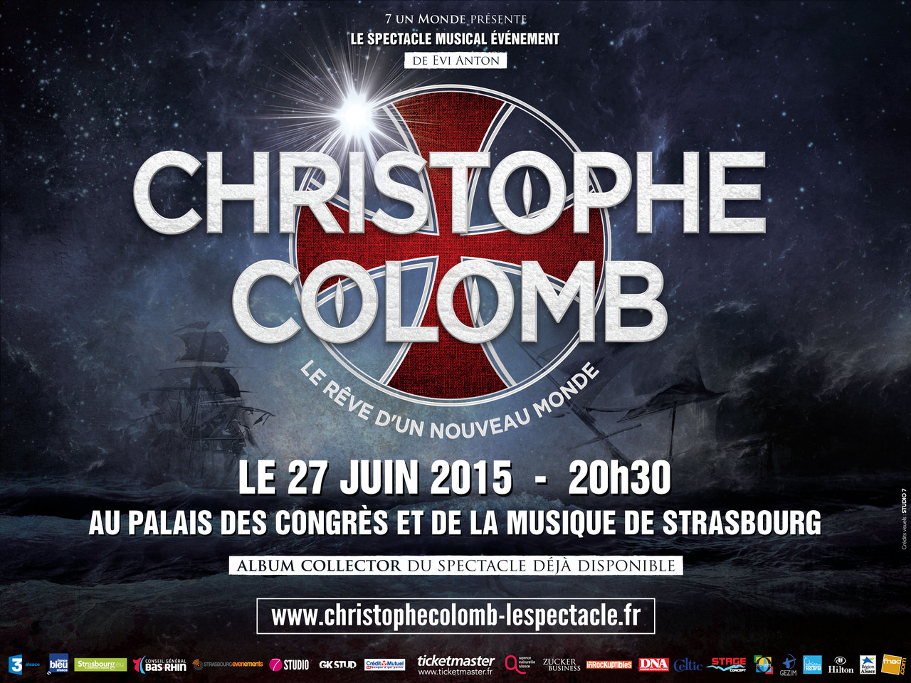 "Affiche spectacle ""Christophe Colomb"""
