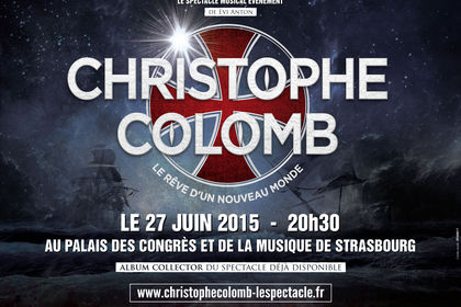 """Affiche spectacle """"Christophe Colomb"""""""