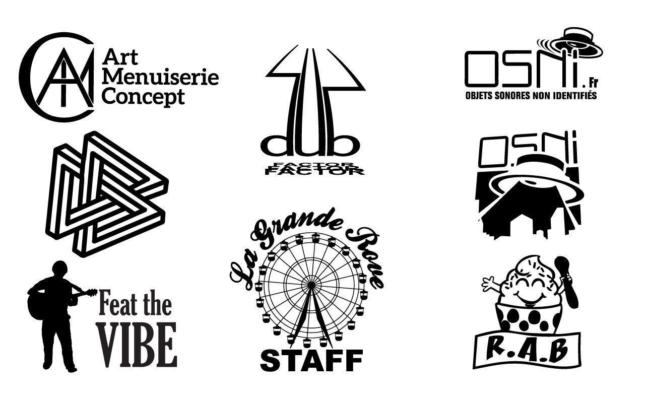 Logos Tshirts 1 couleur