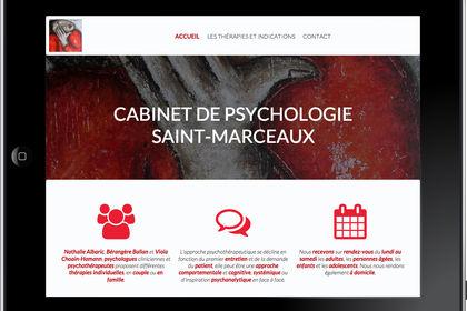 Création de site pour un cabinet de psychologie