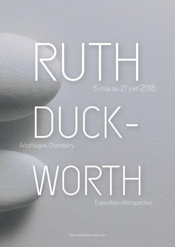 Affiche retrospective Ruth Duckworth