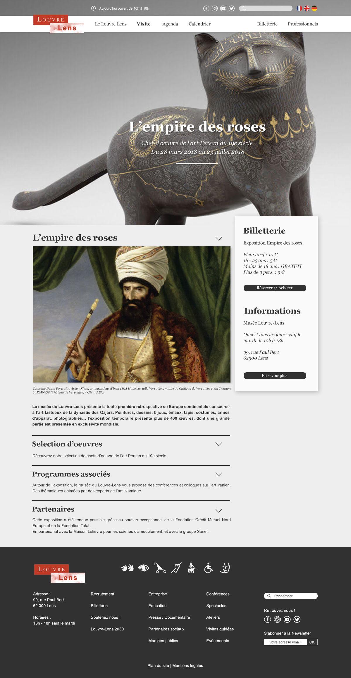 Refonte Louvre Lens