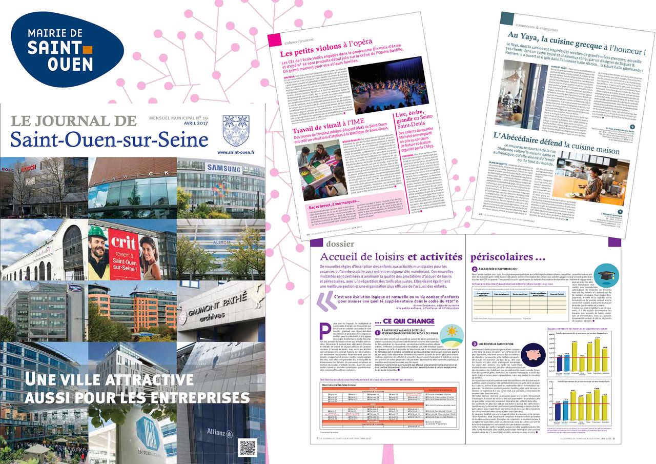 Journal municipal de Saint-Ouen