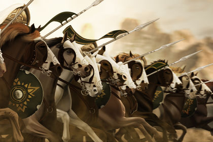 The ride of the Rohirrim