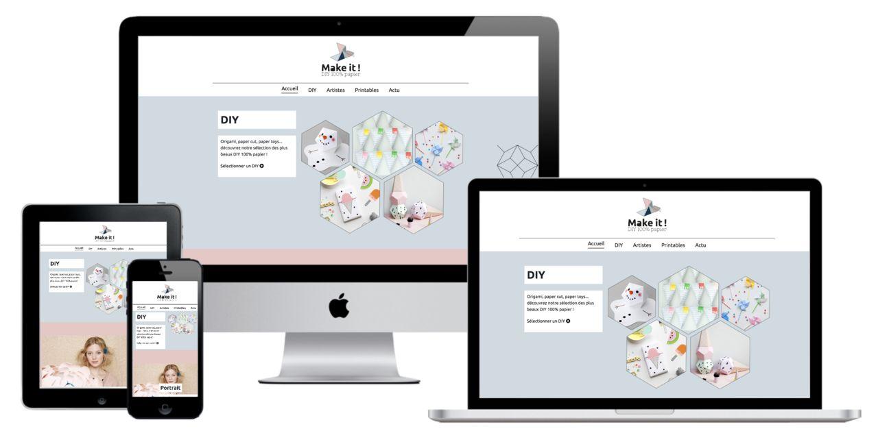Conception d'un site responsive