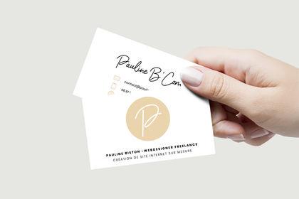 Réalisation du logo et de la carte de visite