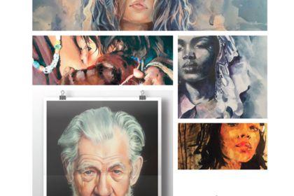 Peintures, portraits