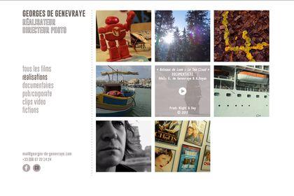 Site web pour réalisateur - directeur photo