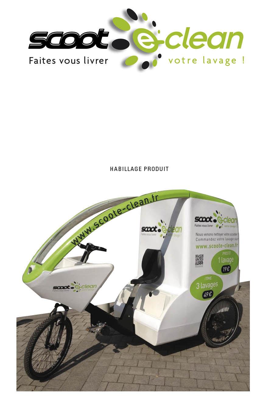 SCOOT E-CLEAN - Lavage scooter à domicile