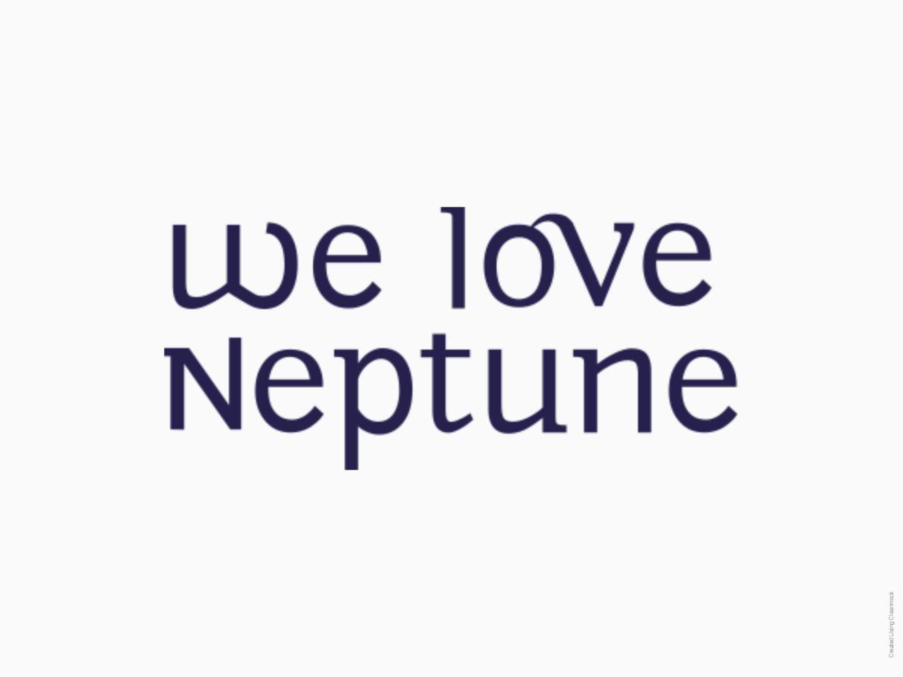 We Love Neptune - Logo