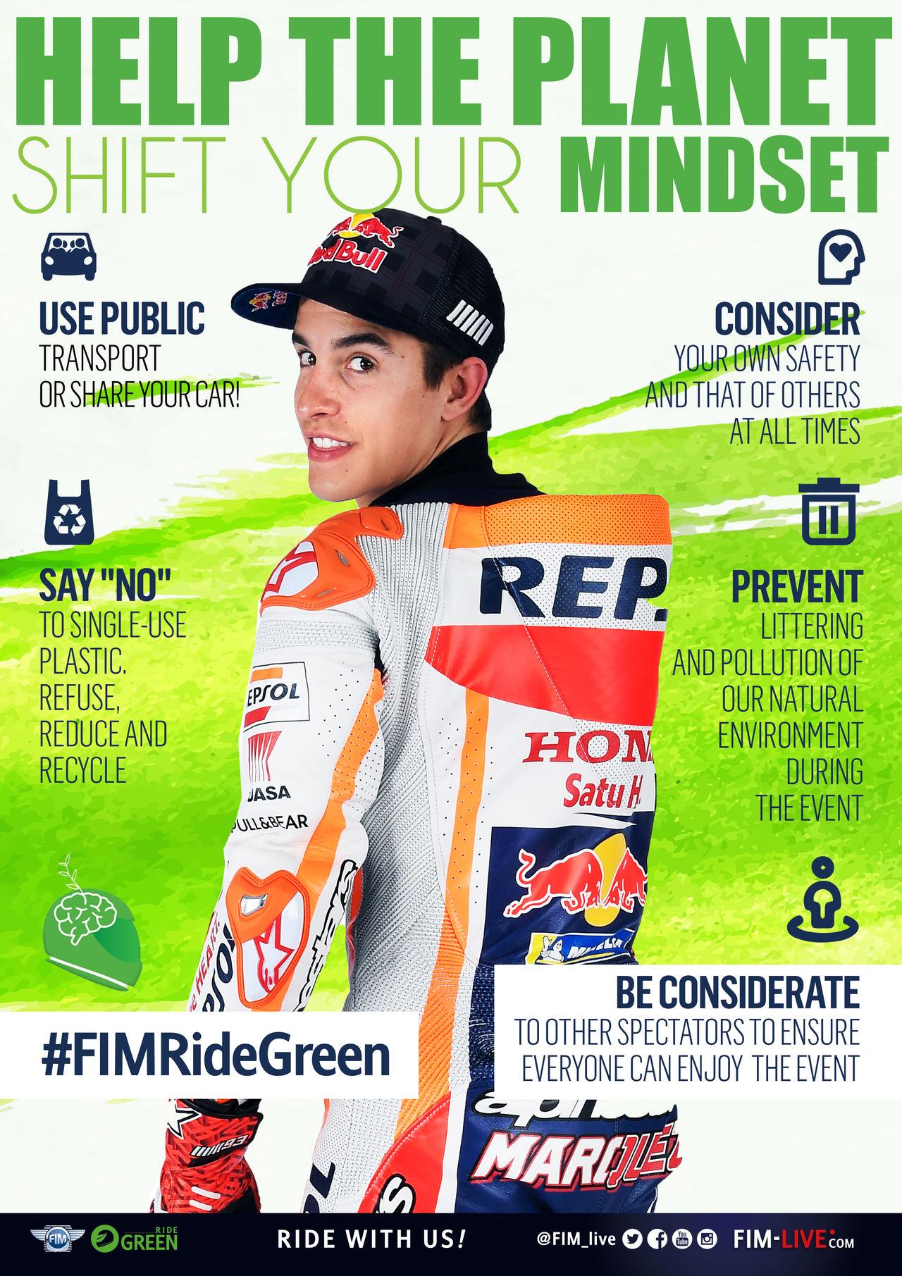 Ride green campaign - ambassador