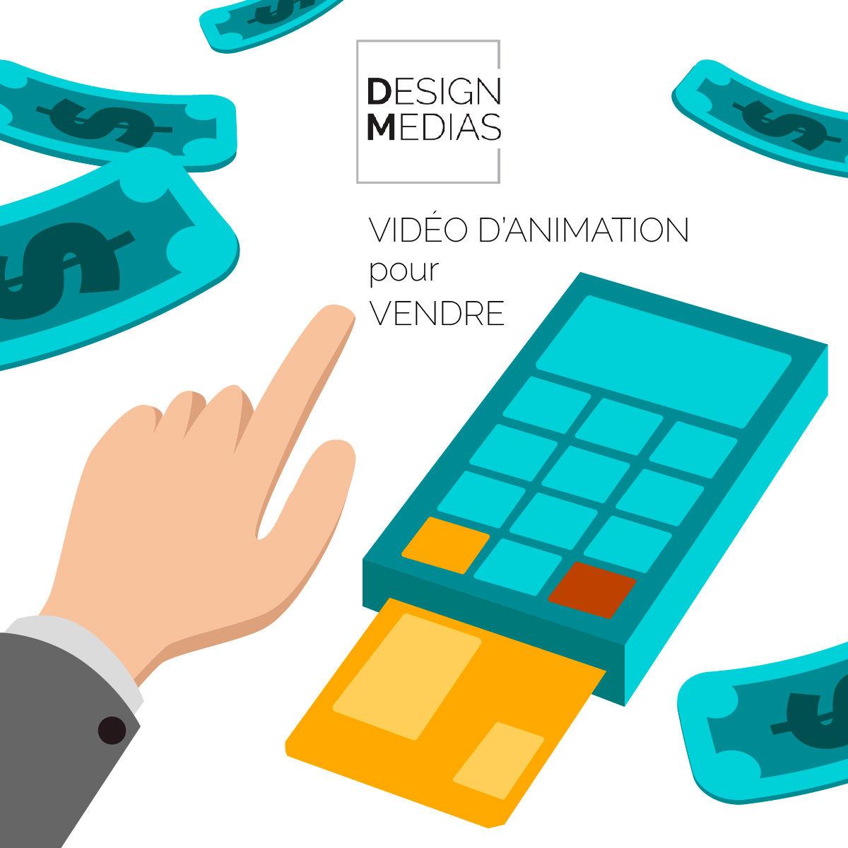 Motion design pour vendre un produit ou un service