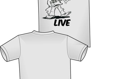 T-shirt Simply Live