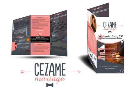 Création Brochure pour Cezame Mariage