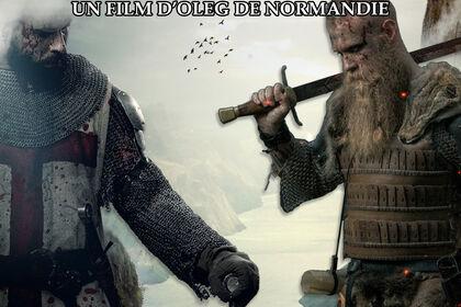 Affiche Film Templiers, vikings & cathéd
