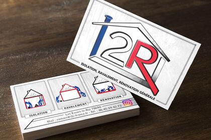 Carte de visite Société I2R